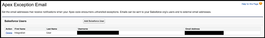 Setting Apex Exception Email Recipients.