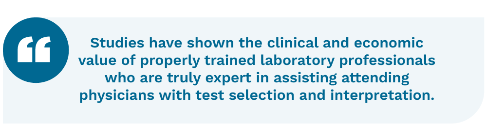 Clinical laboratory consulting quotation