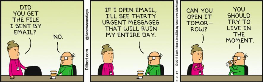 Avoiding Email